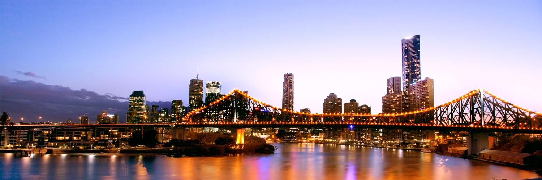 Brisbane HUG City Skyline
