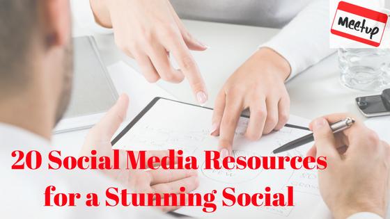 20 Social Media Resources
